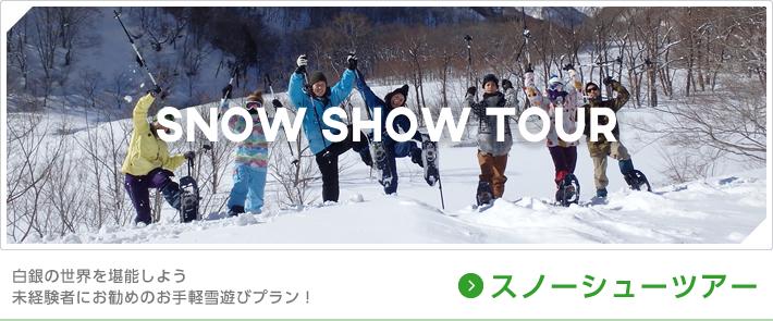 白銀の世界を堪能しよう 未経験者にお勧めのお手軽雪遊びプラン!スノーシューツアー