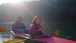 06:40 カヌー体験