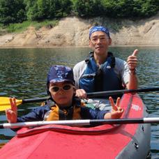 07/14 湖の半日探検カヌーツアー① HIDEのイメージ
