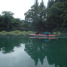 8月16日 四万湖カヌーツアー のイメージ