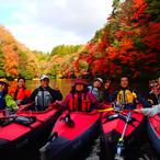 11月25日、26日 亀山湖紅葉探検カヌーツアー開催しますのイメージ
