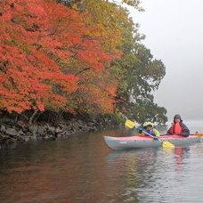 10月21日 中禅寺湖紅葉カヌー HIDEのイメージ