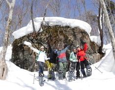 2月27日 スノーシューツアー HIDE&ちひろのイメージ