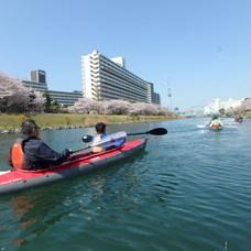3月31日 スカイツリーお花見カヌー HIDEのイメージ