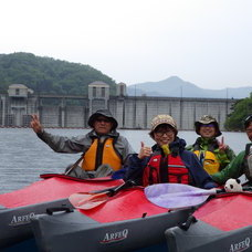 5月13日 奥四万湖カヌーツアー HIDE&RYUのイメージ