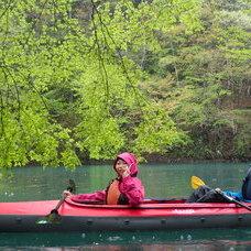 4月30日 四万湖カヌーツアー じゃーまんのイメージ