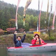 4月30日 みかなみカヌーツアー のりPのイメージ