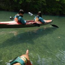5月9日 四万湖カヌーツアー ちひろのイメージ