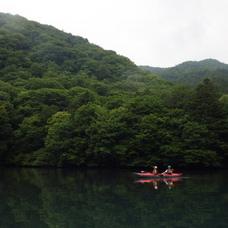 6月21日 四万湖カヌーツアー ちひろのイメージ