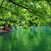 6月16日 四万湖カヌーツアー ちひろのイメージ
