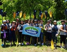6月13日 AM四万湖カヌー体験会 ちひろのイメージ