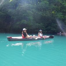 6月8日 四万湖カヌーツアー ちひろのイメージ