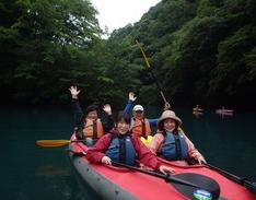 7月12日 四万湖カヌー けんたろうのイメージ
