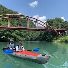 7月30日 四万湖カヌーツアー のりPのイメージ