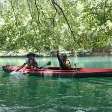 7月26日 四万湖カヌーツアー ぶっさんのイメージ