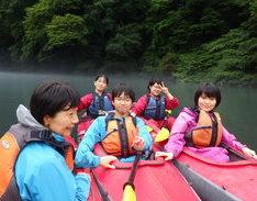 7月14日 四万湖カヌーツアー RYUのイメージ
