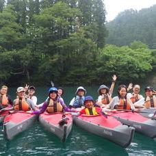 8月19日 四万湖カヌーツアー RYUのイメージ