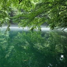 8月30日 四万湖カヌーツアー ちひろのイメージ