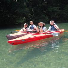 8月3日 四万湖カヌーツアー じゃーまんのイメージ