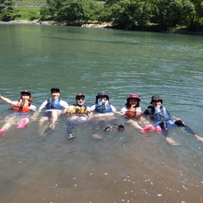 8月3日 四万湖カヌーツアー ちひろのイメージ