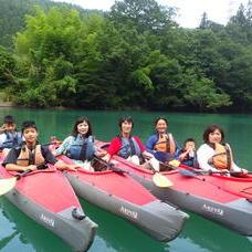 8月11日 四万湖カヌーツアー RYUのイメージ