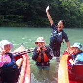 8月23日 四万湖カヌーツアー RYUのイメージ