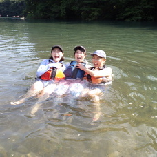 8月17日 四万湖カヌーツアー ちひろのイメージ