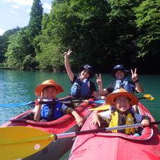 8月31日 四万湖カヌーツアー RYUのイメージ