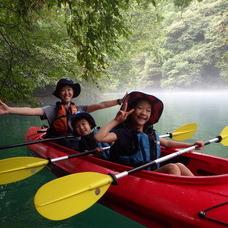 8月27日 四万湖カヌーツアー ぶっさんのイメージ