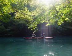 8月25日 四万湖カヌーツアー RYUのイメージ