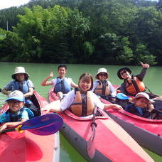 8月21日 四万湖カヌーツアー RYUのイメージ