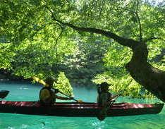 8月24日 四万湖カヌーツアー RYUのイメージ