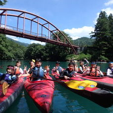 8月13日 四万湖カヌーツアー ぶっさんのイメージ