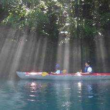 8月9日 四万湖カヌーツアー ちひろのイメージ