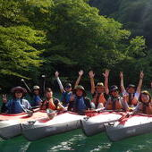 8月26日 四万湖カヌーツアー RYUのイメージ
