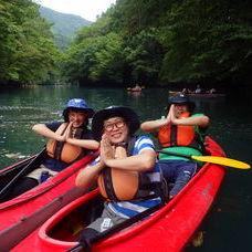 8月12日 四万湖カヌーツアー RYUのイメージ