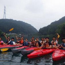 9月3日 四万湖カヌーツアー RYUのイメージ