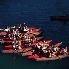 9月14日 四万湖カヌーツアー ちひろのイメージ