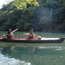 9月9日 四万湖カヌーツアー けんたろうのイメージ