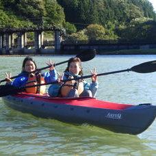 10月13日 四万湖カヌーツアー RYUのイメージ