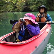 10月26日 四万湖カヌーツアー ちひろのイメージ