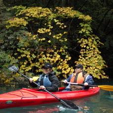 10月24日 四万湖カヌーツアー ちひろのイメージ