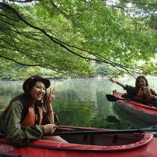 10月8日 四万湖カヌーツアー けんたろうのイメージ