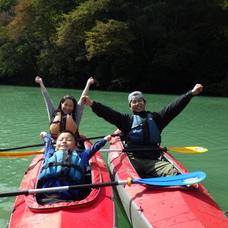 10月15日 四万湖カヌーツアー ちひろのイメージ