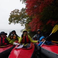 10月19日 中禅寺湖紅葉カヌーツアー ぶっさんのイメージ