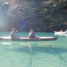 11月5日  四万湖カヌーツアー けんたろうのイメージ