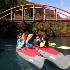 11月17日 四万湖ラストカヌーツアー ちひろのイメージ