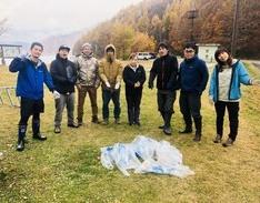 奈良俣湖、洞元湖ゴミ拾いのイメージ