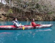 3月28日 四万湖カヌーツアー RYUのイメージ