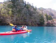 4月4日 四万湖カヌーツアー RYUのイメージ